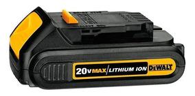 Bateria 20v Max Compact 1.3 Ah De Lítio Dcb207-b3 Dewalt