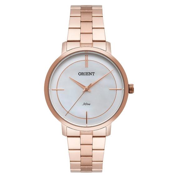 Relógio Orient Feminino Analógico Frss0029 Rose Gold