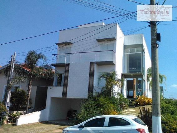 Casa Residencial Para Venda E Locação, Condomínio Terras De São Francisco, Vinhedo. - Ca0174