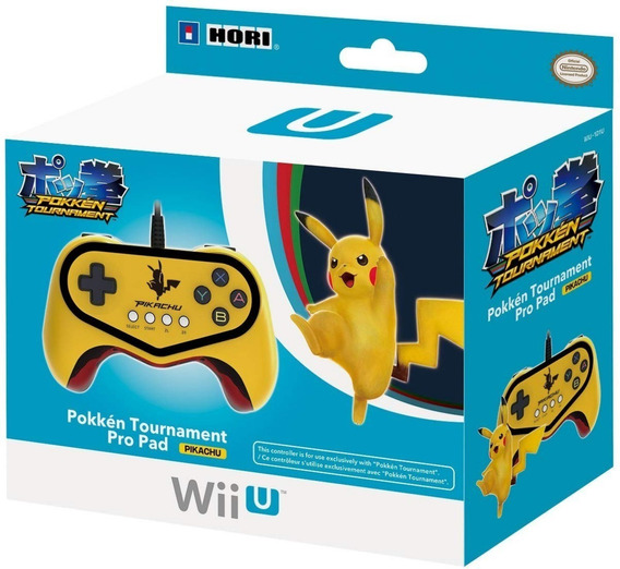 Controle Pokken Tournament Lacrado Wii U Pikachu