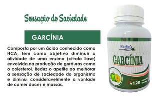 Garcinia Pura Original - Legítima 100% Natural 500mg 120cap