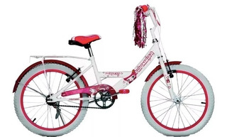 Bicicleta Rodado 20 Nena Niña Bmx Full Princess