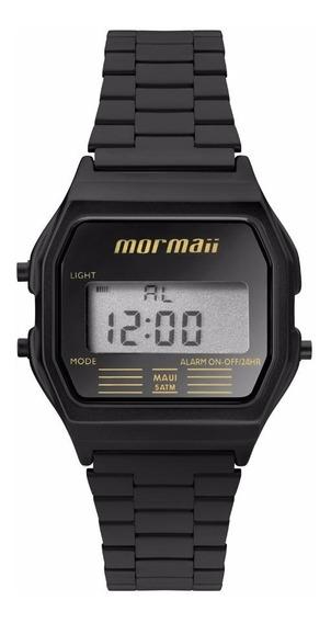 Relógio Mormaii Feminino Vintage Mojh02aj/4p Preto Digital