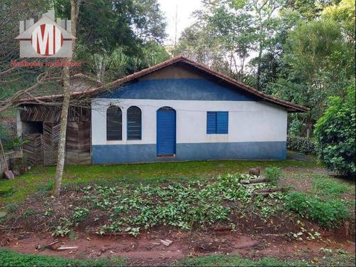 Ótima Chácara Com Escritura, 3 Dormitórios, Pomar, Excelente Localização, À Venda, 2420 M² Por R$ 320.000 - Zona Rural - Pinhalzinho/sp - Ch0860