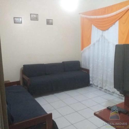 Apartamento Com 1 Dorm, Guilhermina, Praia Grande - R$ 160 Mil, Cod: 9349 - V9349
