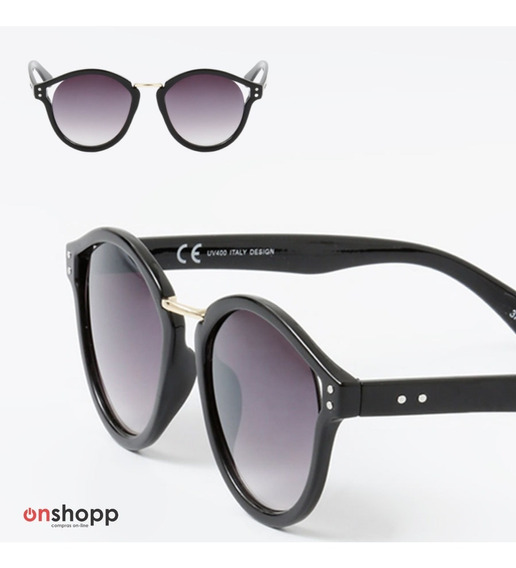 Óculos De Sol Feminino Redondo Uv400 Com Estojo + Flanela