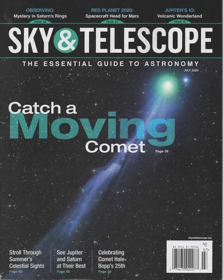 Sky & Telescope Us - Assinatura 6 Revistas Mensais