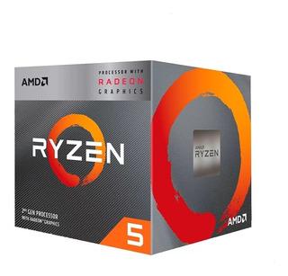 Procesador Amd Ryzen R5-3400g Am4 Quadcore 4.2 Ghz Vega11