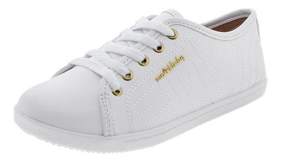 Tênis Infantil Feminino Molekinha - 2155148 Branco