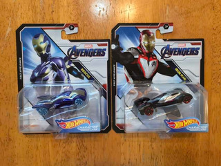 Marvel Endgame Iron Man Rescue Character Cars Hot Wheels