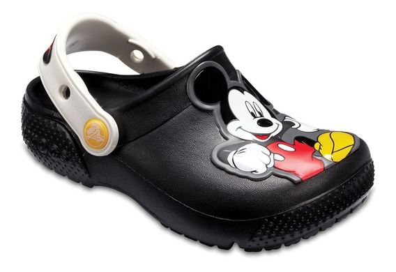 Crocs Fun Lab Disney Mickey O Batman Clog K Niños Abc Dep