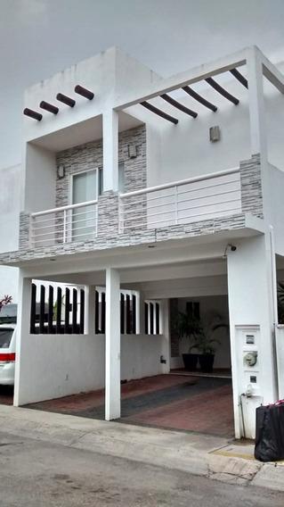 Vendo Hermosa Casa En Residencial Zona Sur De Cancun