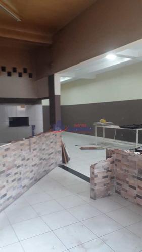 Imagem 1 de 7 de Salão, Jardim Vila Galvão, Guarulhos, Cod: 7427 - A7427