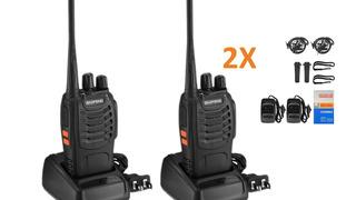 Combo 2 Radios Baofeng Bf-888-777-666 2019 20km + Audifonos