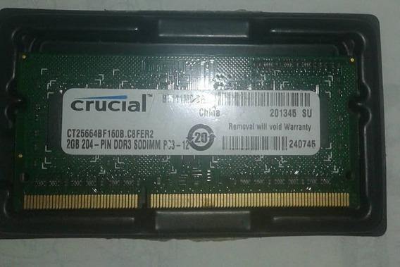 Memoria Ram Ddr2 Y Ddr3 Para Laptop De 2gigas