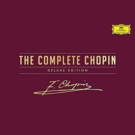 The Complete Chopin Deluxe Edition [20 Cd/dvd Combo