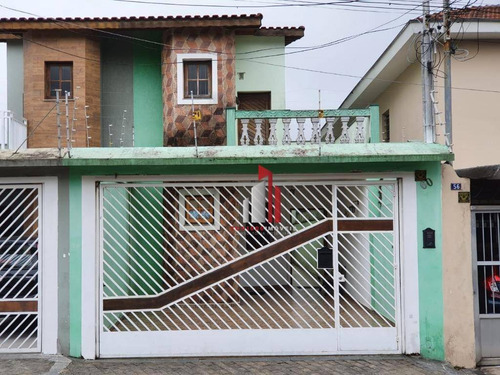 Sobrado À Venda, 177 M² Por R$ 900.000,00 - Vila Moinho Velho - São Paulo/sp - So0297