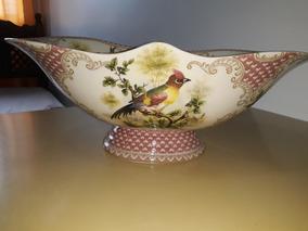 Porcelana Inglesa Com Pintura Italiana