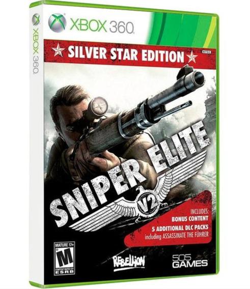 Sniper Elite V2 Xbox 360 Original Novo Lacrado