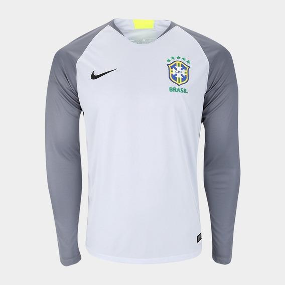 Camisa Brasil Cbf Goleiro - Nike Original Seleção Brasileira