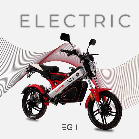 Moto Scooter Gilera Eg1 1500 W 0km Plegable Litio Electrico