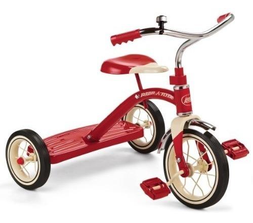 Radio Flyer 10 Triciclo Clásico Rojo