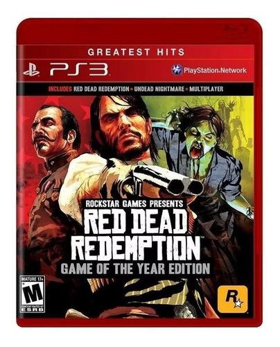 Red Dead Redemption Goty Ps3 Juego Fisico Sellado Sevengamer