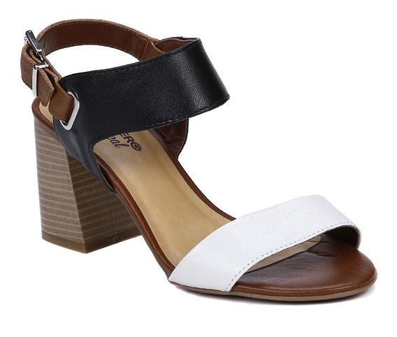 Sandália De Salto Feminina Bottero Caramelo