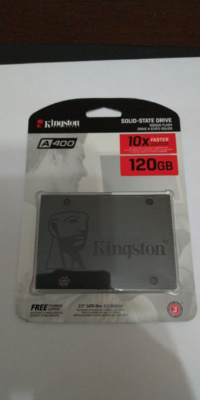 Hd Ssd Kingston 120gb 6gb/s A400 Pc E Notebook
