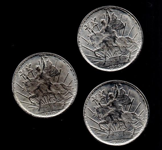 Imitacion Moneta Un Peso Caballito 1910 Popular A1 F2