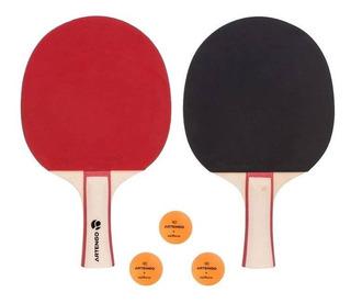 Juego De 2 Raquetas+ 3 Pelotas Ping Pong Artengo 8352108