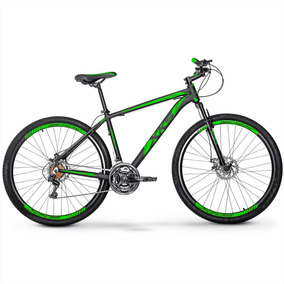Bike Xks Aro 29 Alumínio Freio A Disco 21v Kit Shimano