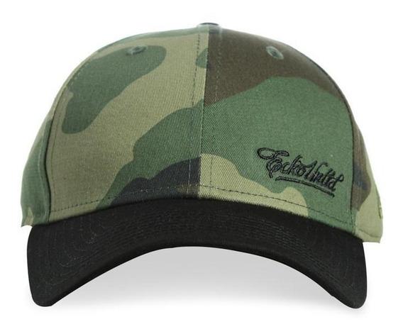 Gorra Original Caballero Ecko Untld New Era Verde Militar