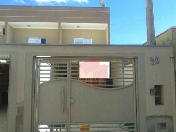 Casa Com 2 Dormitórios Para Alugar, 100 M² Por R$ 1.100/mês - Parque Residencial Jaguari - Americana/sp - Ca0471