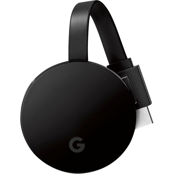 Google Chromecast Ultra 4k Hdmi Smart Tv Novo Sem Embalagem