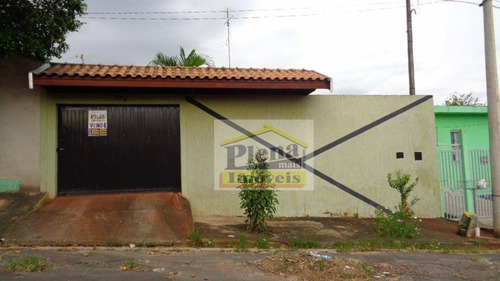 Casa  Residencial À Venda, Vila Valle, Sumaré. - Ca1854