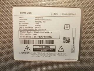 Tv Led Samsung Un40j5200ag En Desarme