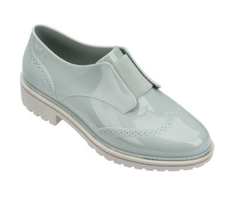 Sapato Feminino Zaxy Point Oxford 17507 - Azul Claro