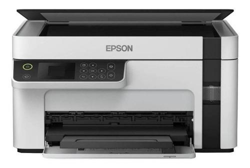 Impresora multifunción Epson EcoTank M2120 con wifi blanca y negra 220V - 240V