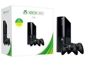 Xbox360 Super Slim 4 Gb Original Completo + Controle + Jogo