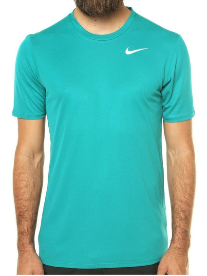 Camiseta Nike Masculina Dri-fit Racer - Azul Claro