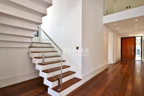 Imagem 1 de 18 de Casa Com 5 Quartos Para Alugar, 390m² Por R$ 19.000/mês - Alphaville - Barueri/sp - Ca7048