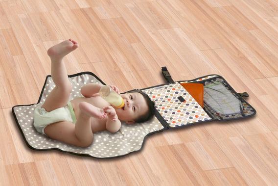 Trocador De Fraldas P/ Bebês Medida Aberto: 92 Cm X 55 Cm