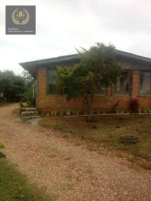 Chácara Com 2 Dormitórios Para Alugar, 1600 M² Por R$ 1.300/mês - Florescente - Viamão/rs - Ch0017