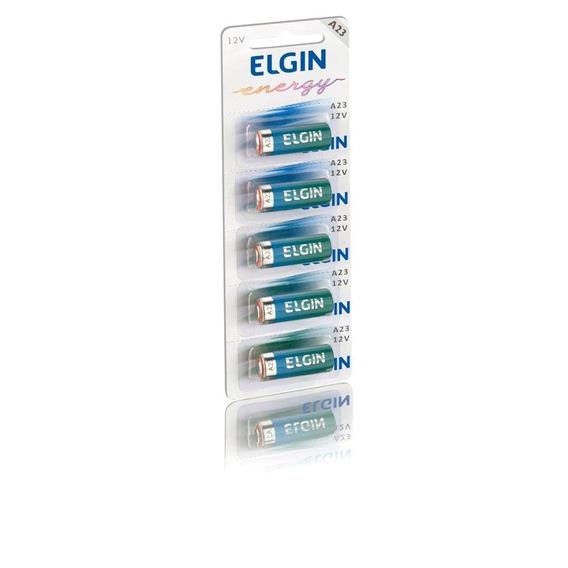 Bateria Alcalina A23 12v (cartela C/ 5) Elgin - 82195
