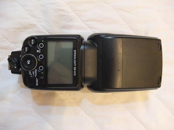 Flash Speedlight Nikon Sb-910 Seminovo
