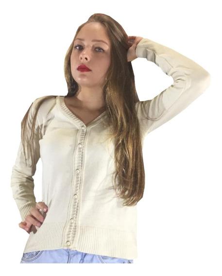 Corta Vento De Lã Casaquinho Feminino Terninho Tricot