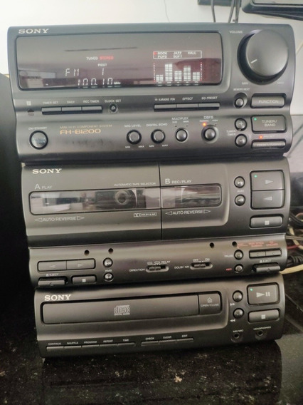 Mini System Sony Fh-b1200 - Raridade - Único A Venda No Ml