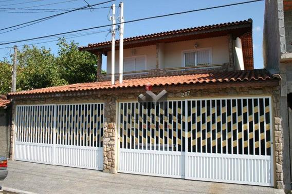R$ 530.000,00 - Sobrado Com 3 Dormitórios À Venda, 151 M² - Boqueirão - Praia Grande/sp - So0310