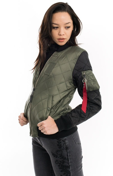 Chamarra Alpha Industries Ma-1 Womens Flight Jacket Mujer